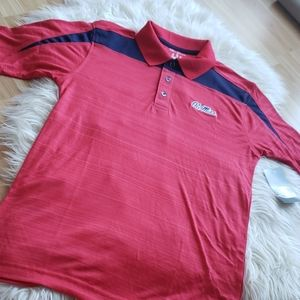 Ole Miss Rebels Performance Polo